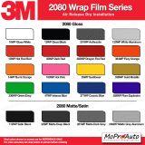 3M 1080 2080 Wrap Series Color Options - Dry Installation Vinyl