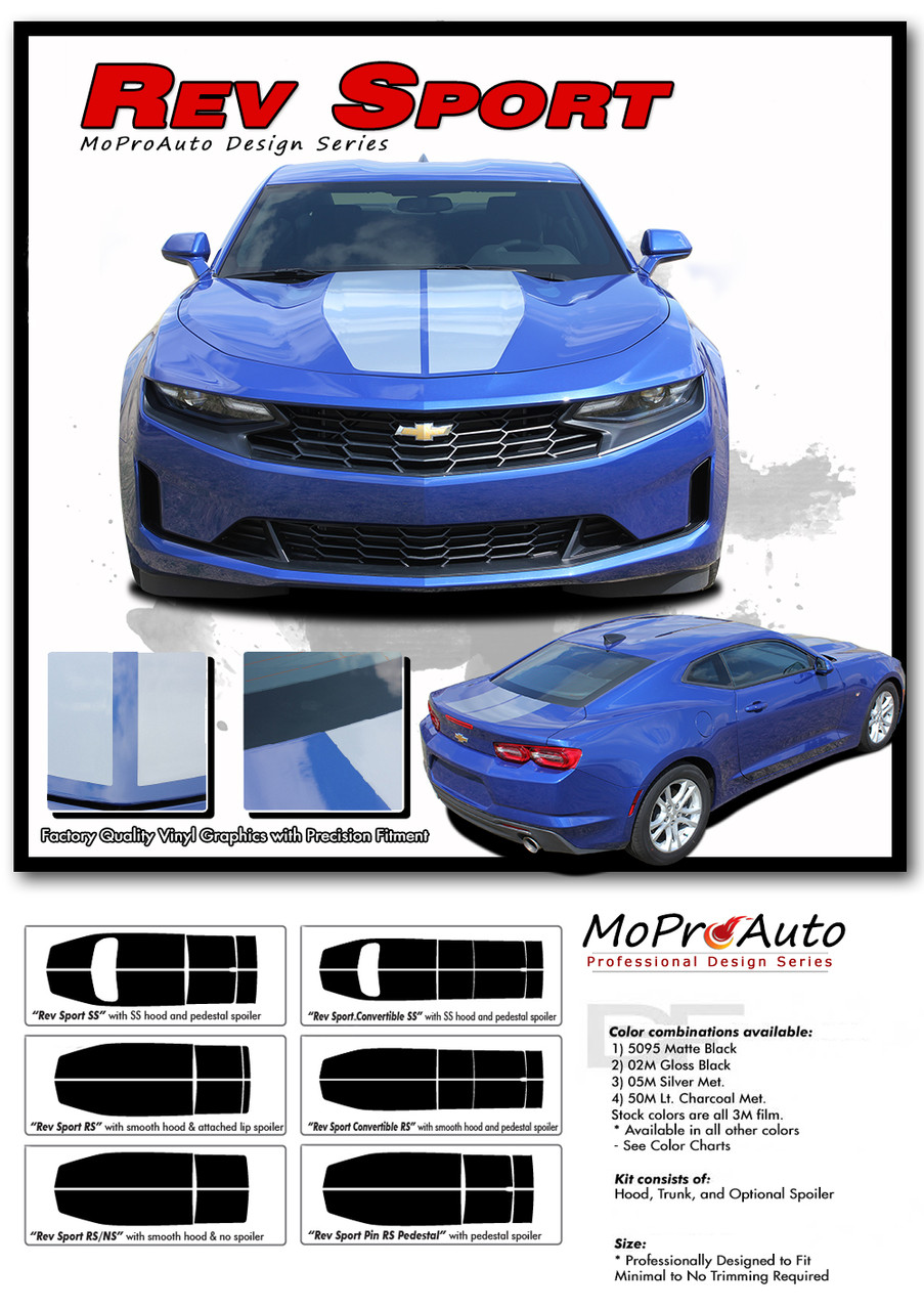 2019 2020 Chevy SS RS Camaro REV SPORT 19 Vinyl Graphics Kits, Decals, Stripes