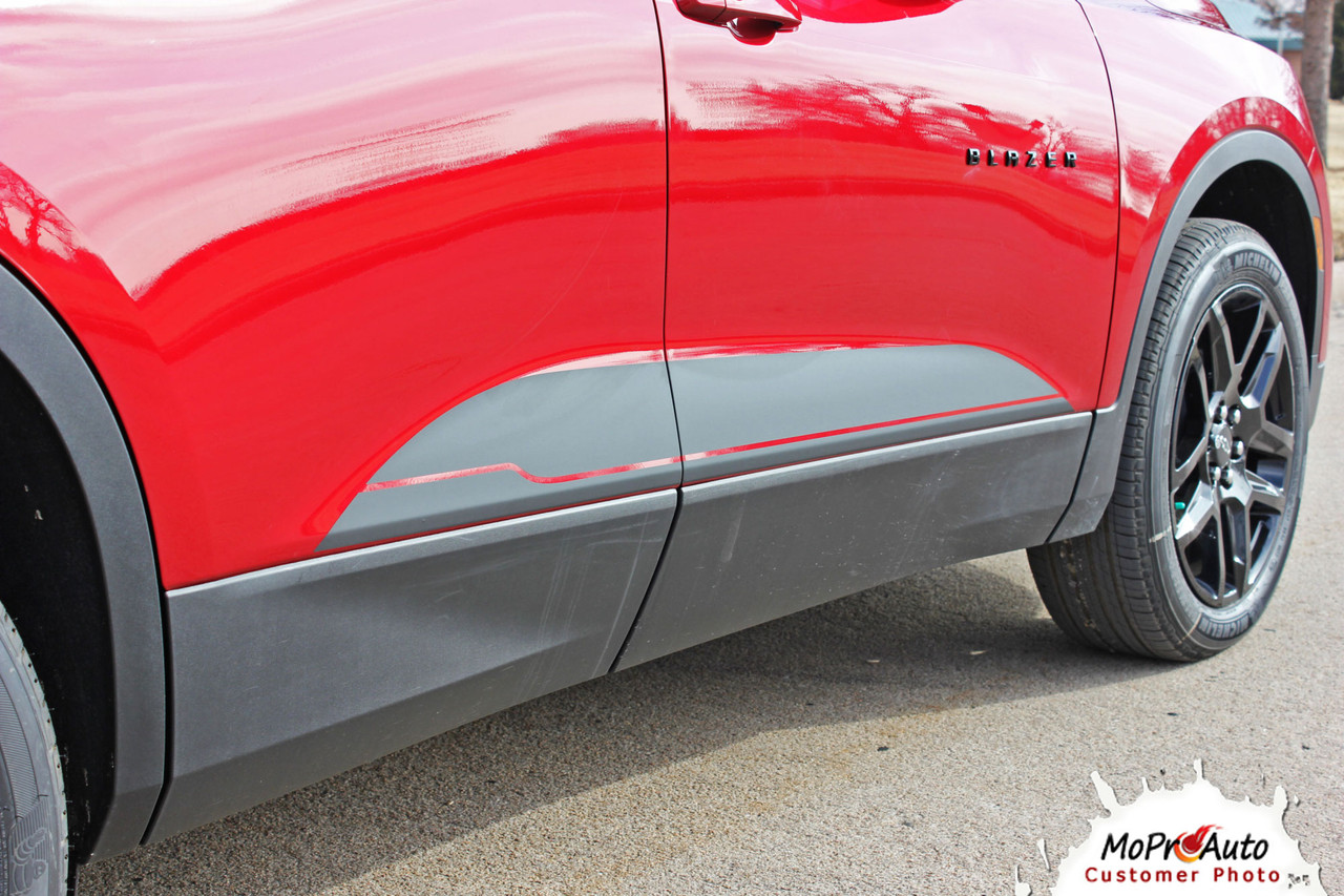 BLAZE, 2019, 2020, Chevy Blazer Vinyl Graphics Package, Blazer Decal Striping Kit | The MoProAuto Original!