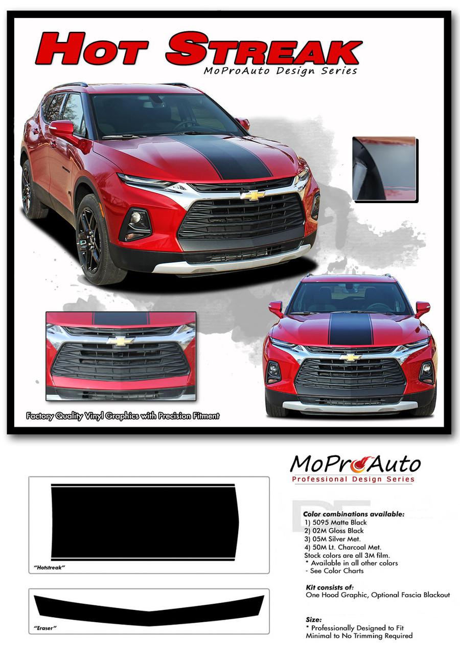 HOTSTREAK, Chevy Blazer Stripes, Chevy Blazer Decals, Chevy Blazer Vinyl Graphic Kits By MoProAuto Pro Design Series