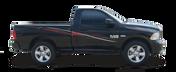 STREAMLINE : Automotive Vinyl Graphics Shown on Dodge Ram and Dodge Dakota (M-08205)
