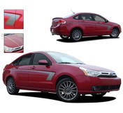 SWIFT : 2008 - 2011 Ford Focus Vinyl Graphics Kit - Professional Vinyl Graphics Kit for the 2008 and Up Ford Focus! Choose these styles to set your ride apart from the crowd! Easy to Install Pre-Designed Graphics.
