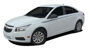 STRIDE : Chevy Cruze 2008-2015 Upper Body Door Accent Striping Vinyl Graphics Decals (M-PDS-1634)