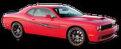 SHOCKWAVE : Automotive Vinyl Graphics Shown on Chevy Camaro (M-09254)