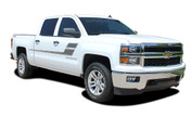 SPEED XL : 2000-2019 Chevy Silverado or GMC Sierra Vinyl Graphic Decal Stripe Kit. Chevy Silverado and GMC Sierra Vinyl Graphics, Stripes and Decal Package! Ready to install. A fantastic addition to your new truck, using only Premium Cast 3M, Avery, or Ritrama Vinyl!