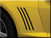 Sharpline CAMARO VENT STRIPES : 2010-2013 Factory OEM Style Vinyl Graphics Kit (M-2012)
