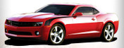 Sharpline CAMARO HOCKEY STRIPES : 2010-2013 Factory OEM Style Vinyl Graphics Kit (M-2011)