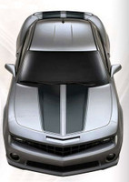 Sharpline CAMARO RALLY STRIPES : 2010-2013 Factory OEM Style Vinyl Graphics Kit (M-2010)