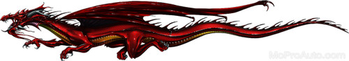 SAMURAI DRAGON : High Definition Automotive Vinyl Graphics (M-SMD70MD)