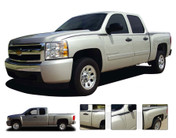 QUICKSILVER : Vinyl Graphics Kit for the Chevy Silverado or GMC Sierra fits 2007-2013 Models  Vinyl Graphics, Stripes and Decal Package for Your Chevy Silverado or GMC Sierra! Pre-cut pieces ready to install. A fantastic addition to your vehicle, using only Premium Cast 3M, Avery, or Ritrama Vinyl! Fits 2007-2013 Models