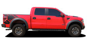 """PREDATOR 2R : 2009 2010 2011 2012 2013 2014 Ford F-Series """"Raptor"""" Style Vinyl Graphics and Decals Kit - RAPTOR MODEL ONLY  NEW! * Ford Raptor """"SVT RAPTOR"""" Style Vinyl Graphics and Decals Kit! Ready to install for your 2010-2014 RAPTOR Ford Truck. Professional """"OEM Style"""" and Design! For Automotive Restylers and Dealers!"""