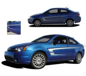 PIERCE : 2008 - 2011 Ford Focus Vinyl Graphics Kit  Professional Vinyl Graphics Kit for the 2008 and Up Ford Focus! Choose these styles to set your ride apart from the crowd! Easy to Install Pre-Designed Graphics.