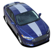OVERVIEW : 2013 2014 2015 2016 2017 2018 2019 2020 Ford Fusion Vinyl Graphics Decals Stripe Kit! Professionally Designed Vinyl Graphics Stripes Decals Kit for the Ford Fusion! Easy to Install with 100's of colors to choose from . . .