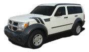 NITRO Double Bar : 2007 - 2012 Dodge Nitro Vinyl Graphics Kit - * NEW * 2007 - 2012 Dodge NITRO Double Bar Hood Decals! Engineered specifically for the Dodge Nitro body styles, this kit will give you a factory OEM upgrade look at a discount price! Hood and Side Pieces included! Pre-Cut pieces ready to install!