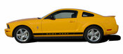 Mustang WILDSTANG ROCKER 2 : 2005-2015 Ford Mustang Rocker Panel Stripes - Rocker Panel Vinyl Graphics and Decal Kit for the 2005-2015 Ford Mustang! Ready to install pieces. A fantastic addition to your vehicle, using only Premium Cast 3M, Avery, or Ritrama Vinyl! . . .