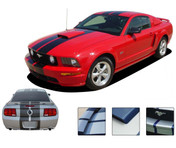 """Mustang WILDSTANG S-500 : Lemans GT500 Style Vinyl Racing Stripe Kit for 2005-2009 Ford Mustang GT - Complete Factory """"OEM"""" Style Vinyl Racing and Rally Stripes Kit for the 2005-2009 Ford Mustang GT! Pre-cut pieces ready to install. A fantastic addition to your vehicle, using only Premium Cast 3M, Avery, or Ritrama Vinyl!"""