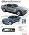 Mustang GETAWAY : 2010-2013 Ford Mustang Vinyl Graphics Kit - C Style Vinyl Graphics Kit for the 2010-2013 Ford Mustang! Great alternative to rally stripes, gives a retro muscle car look that will set your Mustang apart!