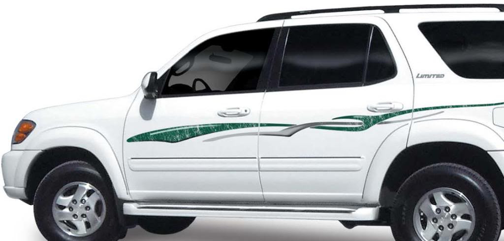 2008 Toyota Highlander For Sale >> HIGHLANDER : Vinyl Graphics Decals Stripes Kit (Universal ...