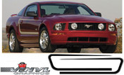 Ford Mustang : C Stripe Mustang Vinyl Graphics Kit fits 2005-2009