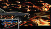 FLAME THROWER : High Definition Automotive Vinyl Graphics Perfect for Side Body Panels (M-FLT10LG)