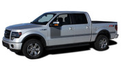 "2009 2010 2011 2012 2013 2014 Ford F-150 Hockey Stick ""Appearance Package Style"" Side Vinyl Graphics and Decals Kit! Ready to install for your F-150 Ford Truck. Professional ""OEM Style"" and Design! For Automotive Restylers and Dealers!"