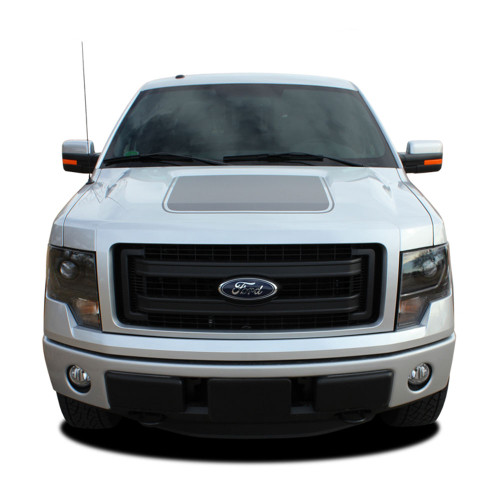 """2009-2014 Ford F-150 Screen Printed """"Appearance Package"""" Hood Vinyl Graphic Kit! Ready to install for your F-150 Ford Truck for 2009 2010 2011 2012 2013 2014 and 2015 2016 2017 Models. Professional """"OEM Style"""" and Design! For Automotive Restylers and Dealers!"""