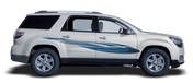 ENRAGED : Automotive Vinyl Graphics Shown on Ford Explorer and Chevy Volt (M-09239)