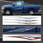 ELECTRIFIED LARGE : Automotive Vinyl Graphics Shown on Dodge Ram 1500 (M-09253)
