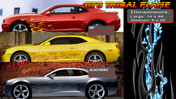 DYO TRIBAL FLAME : High Definition Automotive Vinyl Graphics Perfect for Chevy Camaro (M-DYTMDLG)