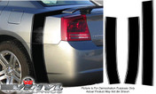 Dodge Charger : Retro Bumble Bee Style Rear Decal Stripes fits 2006-2010