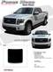 "NEW! Ford F-150 ""Appearance Package Style"" Hood Vinyl Graphic Kit! Ready to install for your F-150 Ford Truck for 2009 2010 2011 2012 2013 2014 Models. Professional ""OEM Style"" and Design! For Automotive Restylers and Dealers! - Details"