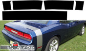 Dodge Challenger : Solid Tail Stripe Kit fits 2008-2013 Models
