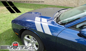 Dodge Challenger : Dual Hood-to-Fender Stripe Kit fits 2008-2013 Models