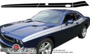 Dodge Challenger : 1971 Style Side Stripes fits 2008-2013 Models (SVS319D)