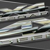 CHROMAX : Chrome Vehicle Emblem Badging 4X4 Special Edition (M-0861)