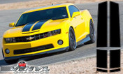 Chevy Camaro : Narrow Style Rally Stripes fits 2010-2013 (SVS315C)