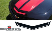 Chevy Camaro : Mail Slot Insert Decal with Pinstripe fits 2010-2013 (SVS308C)