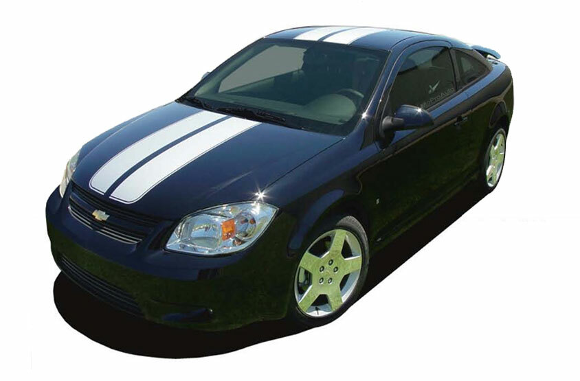COBALT RALLY : Racing Stripe Kit for 2005 2006 2007 2008 2009 2010 Chevy  Cobalt or Pontiac G5