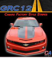 2010-2013 Camaro Factory Style : Racing Stripes Kit