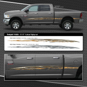 BREAKPOINT : Automotive Vinyl Graphics Shown on Dodge Ram 1500 (M-08204)