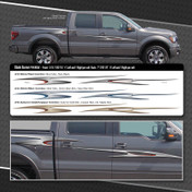 BLADE RUNNER : Automotive Vinyl Graphics Shown on Ford F-150 (M-09241)