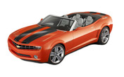 Camaro BUMBLEBEE CONVERTIBLE : 2011 2012 2013 Chevy Camaro Racing Stripes Kit