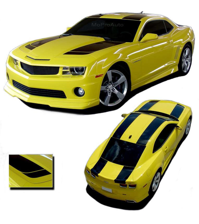 2011-2014 Dodge Charger Bumble Bee Style C Stripes Side Decals Graphics 12 13