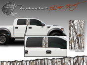 Avalanche Wild Wood Camouflage : Pillar Post Decal Vinyl Graphic 22 inches x 12 inches Amazing style featuring Wild Wood Camo Camouflage. This pillar post decal is available in 4 different camo color styles! Includes 2 decals. Size is 12 inches by 22 inches each.