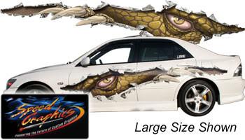 AMAZING TEARS : High Definition Automotive Vinyl Graphics (M-AMAZT)