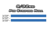 9/32nd x 150ft Professional Vinyl Pinstriping Roll  Pro Grade Vinyl Pin Striping Rolls Made Exclusively for the Automotive Market!