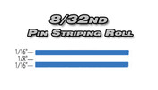 8/32nd x 150ft Professional Vinyl Pinstriping Roll  Pro Grade Vinyl Pin Striping Rolls Made Exclusively for the Automotive Market!
