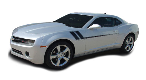 2014 2015 Chevy Camaro TRACK 2 Graphics Kit! Engineered specifically for the new Camaro, this kit will give you a factory OEM upgrade look at a discount price! Pre-cut pieces ready to install! Fits RS, LS, LT, SS Models . . .