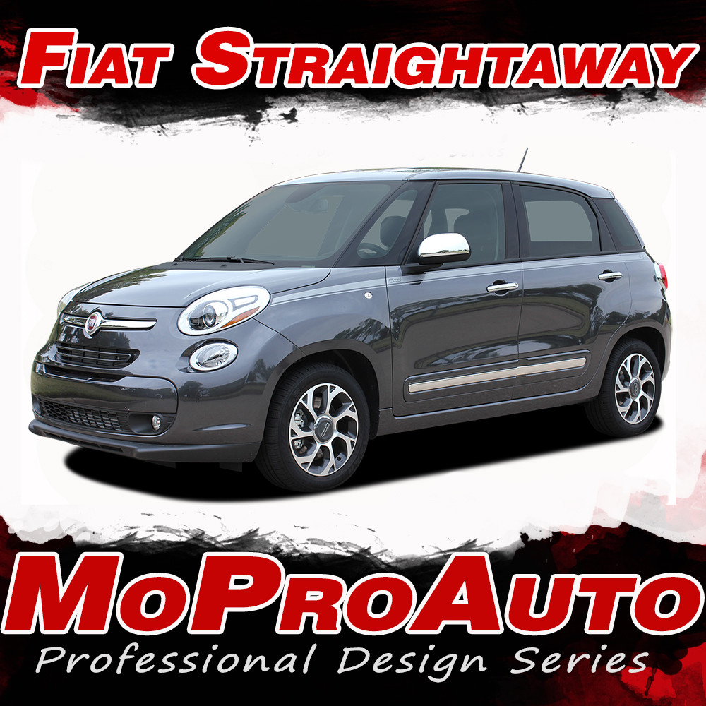 2014-2017 STRAIGHTAWAY : Fiat 500L Abarth Vinyl Graphics