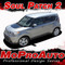 SOUL PATCH 2 : Vinyl Graphics Kit Engineered to fit the 2014 2015 2016 2017 Kia Soul - Vinyl Graphics Kit, specially engineered to fit the 2014 - 2015 KIA Soul! Hood graphic and rear panel graphics, it's the look you've been wanting for the Kia Soul!  - Promo Photos